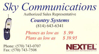 NEXTEL Phone available at Country Systems